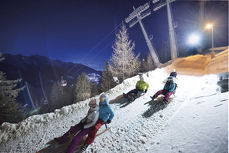 Tobogganing - Fun & action in the Stubai valley in Tyrol