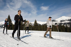 Cross-country skiing in the Stubai valley - A unique nature experience in the Alps